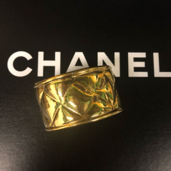 CHANEL Jewelry - Authentic CHANEL Bangle Matrasse